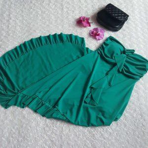 damske zelene saty