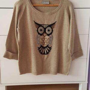 damsky pulover so vzorom