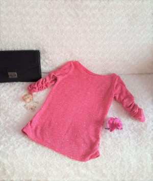 damsky ruzovy pulover